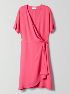 Babaton Hot Magenta Wallace Dress, size M