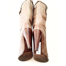 See by Chloe Brown Leather Boots Size 8-SalvEdge Boutique