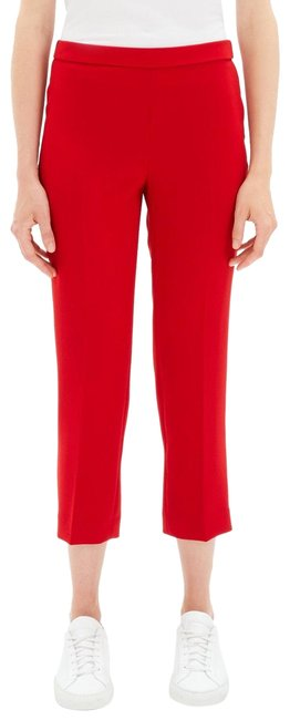 Red Theory Cropped Pants