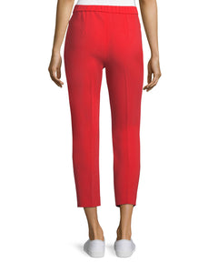 Red Theory Cropped Pants, Size 4