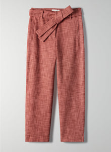 Wilfred Tie Front Tweed Pants Size 0