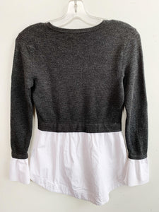 Club Monaco Wool Sweater Blouse Size S