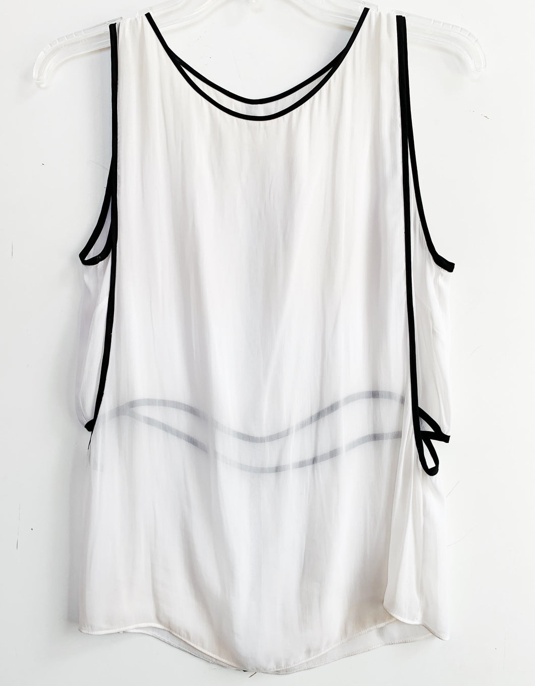 Helmut Lang Sleeveless Mesh Top Size S