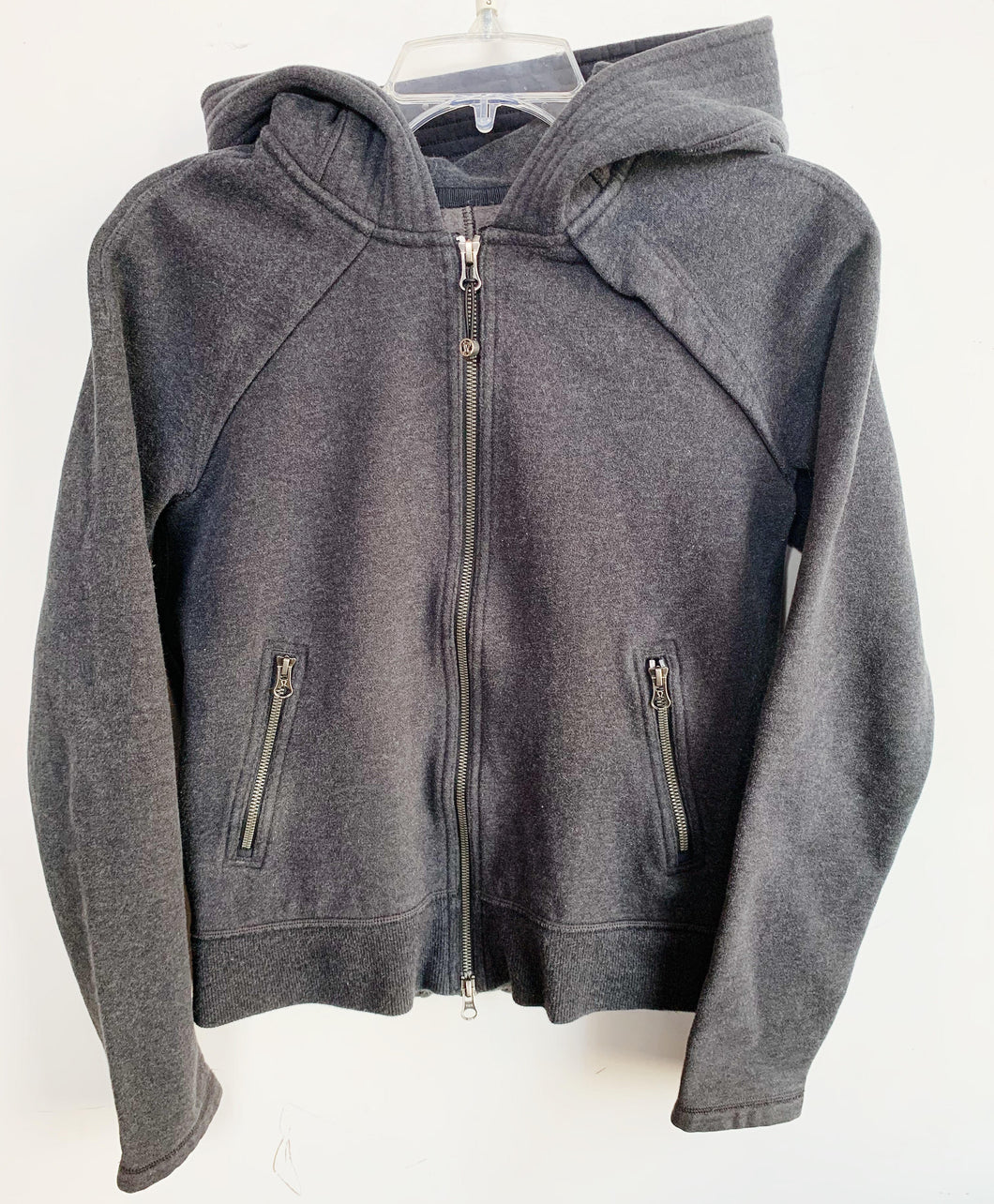 Lululemon Dark Grey Zip Up Hoodie Size S
