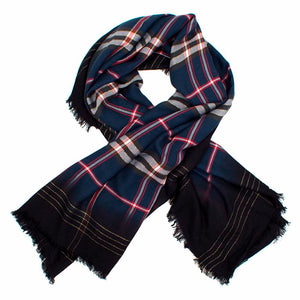 Zadig & Voltaire Plaid Scarf