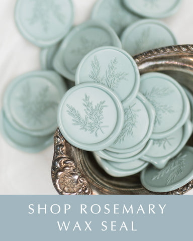 Rosemary Wax Seal