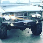 Load image into Gallery viewer, Early Bronco Custom Hidden Winch Front Bumper