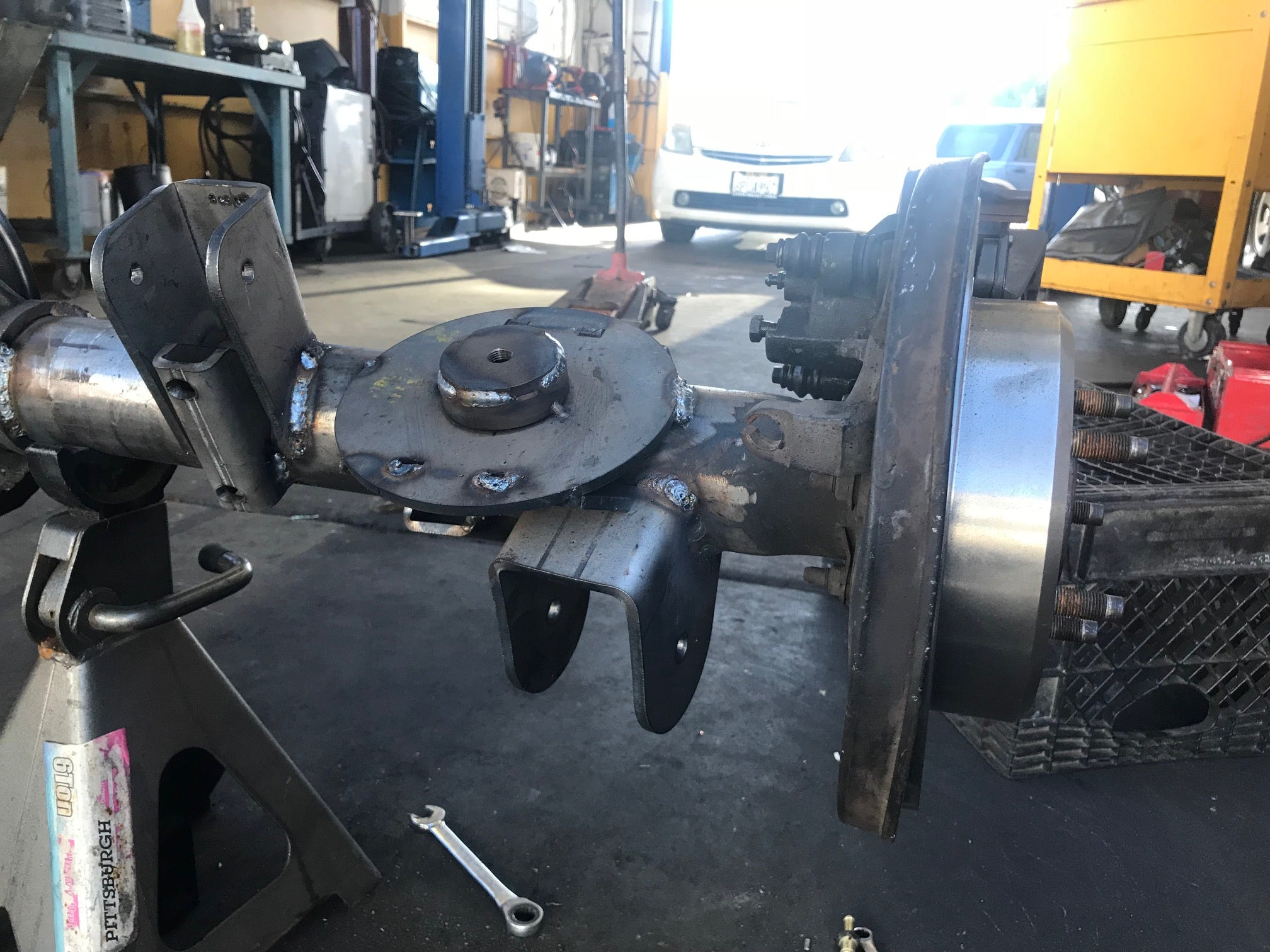 Early Bronco Rear Coil Spring Suspension