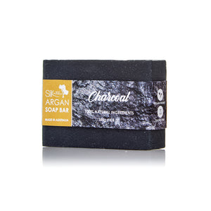 Argan Soap Bar | Charcoal