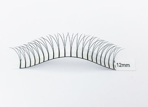 Pre Made Volume Fans 3D .10 - Long Stem