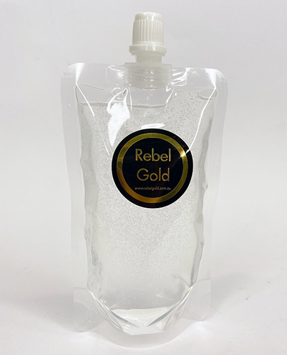 Rebel Gold Hand Sanitizer 75% Alcohol  Eco Pack - 200ml
