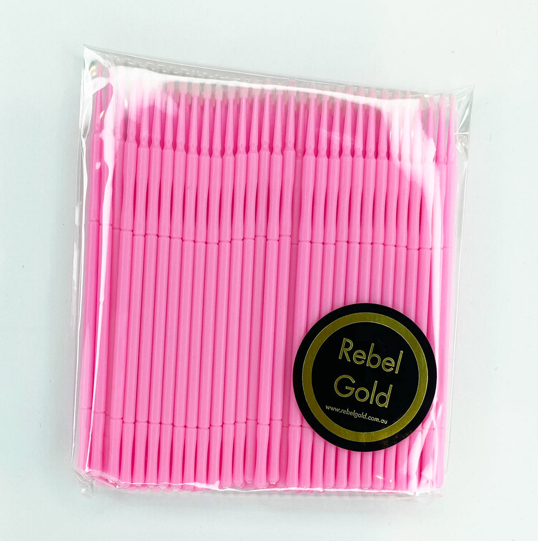 Micro Brush - Pink pack 100