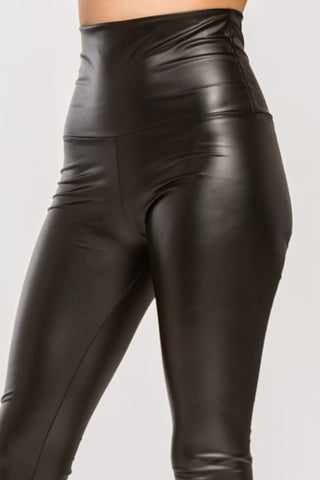 glossy highrise liquid legging
