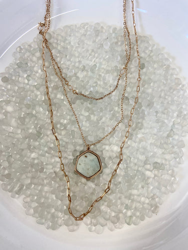 reese layered necklace
