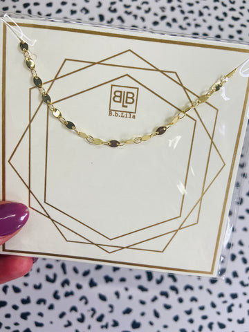 bb lila: my girl necklace