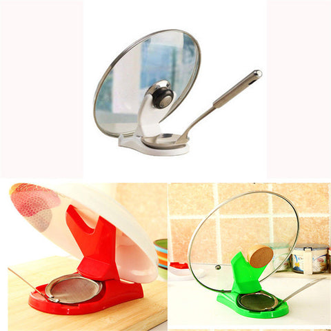 Lid + Spoon Holder Stand