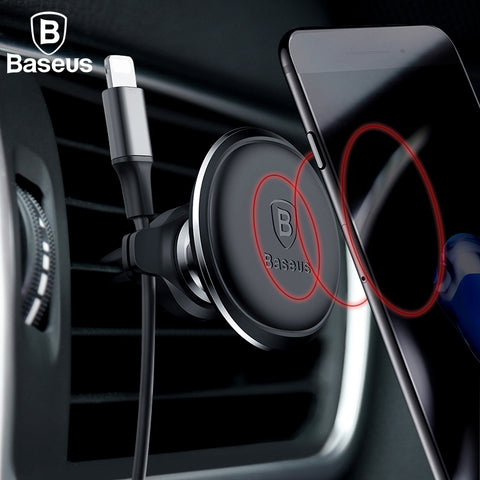 Baseus Magnetic Phone & Cable Holder Vent Mount