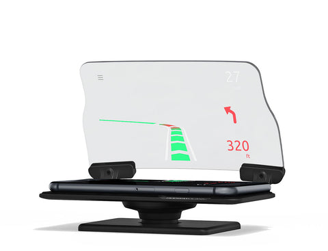 Heads-Up Navigation & Dashboard Display