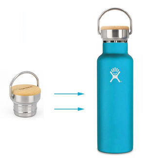Replacement Lid For Standard Mouth Water Bottle Stainless Steel Double Wall Vacuum Insulated Water Bottle