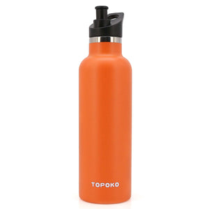 Replacement Lid for Standard Mouth Water Bottle Vacuum Insulated Double Wall Stainless Steel Water Bottle, Simple Modern Ascent and Hydro Flask Standard Mouth (Bite Valve,Straw,& Twist Lid)