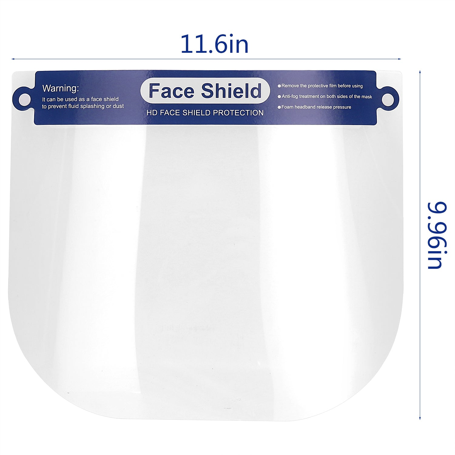 Safety Face Shield 2 PCS, All-Round Protection Cap Plastic Face Shield Safety Face Shield Full Face Shield for Men and Women Anti-Fog, Anti-saliva, Anti-Spitting Hat Cover Outdoor