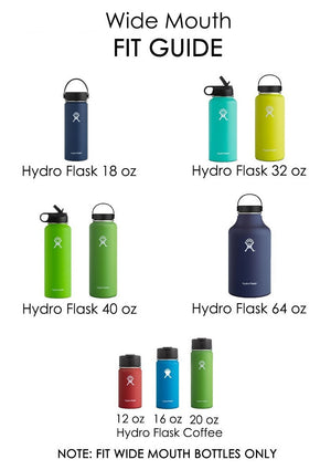 OEM Replacement Lid for Wide Mouth Water Bottle BPA Free Travel Mug Hydro Flip Lid -Flex top Wide Mouth lid-2 Pack