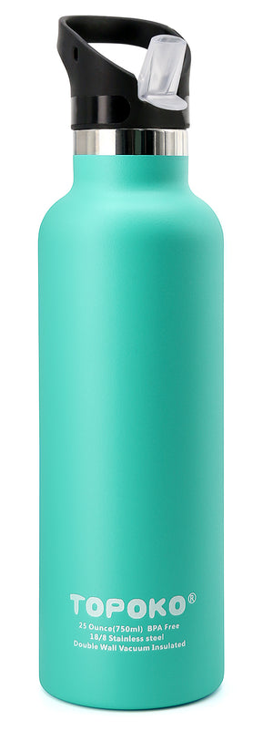 25 OZ Stainless Steel Double Wall Vacuum Insulated Water Bottle.