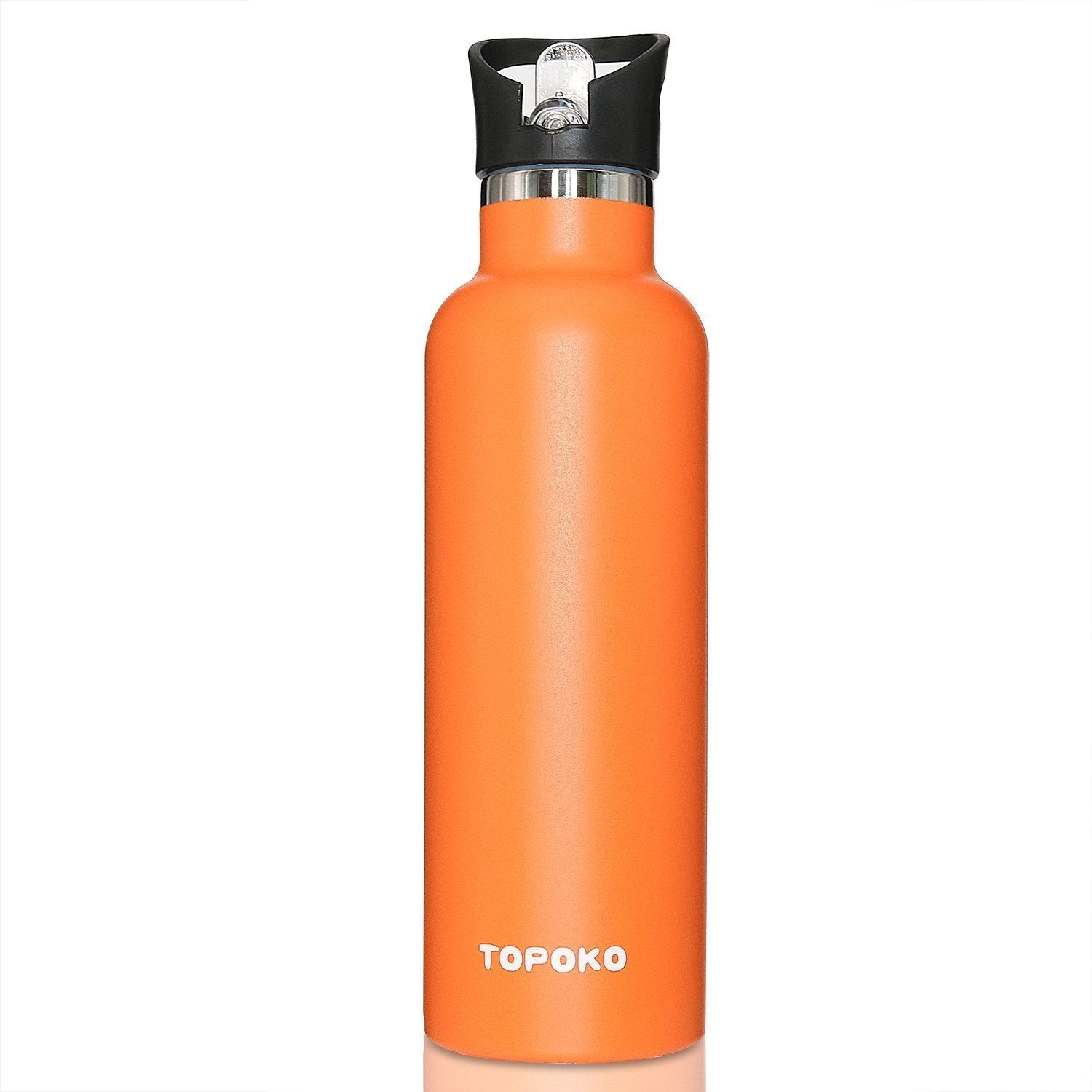 Refurbished TOPOKO 25 OZ Double Wall Insulated Water Bottle 3 pack Random Colors