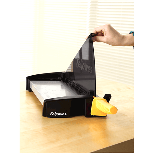 Guillotina Fellowes® Fusion™ 120 Negro - MarchanteMX