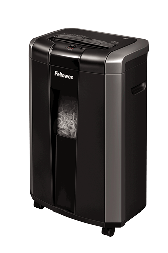 Trituradora Powershred® 76Ct de Corte Cruzado Fellowes Negro Oficina Grupo Leomond-Fellowes