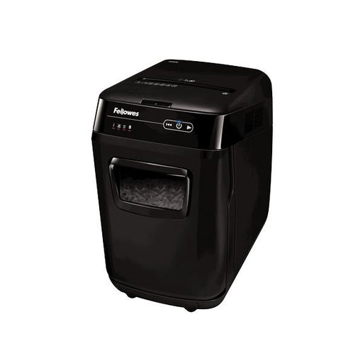 Trituradora AutoMax ™ 200C Auto Feed Shredder Fellowes Negro Oficina Grupo Leomond-Fellowes
