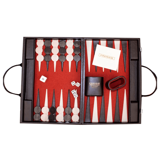 Backgammon Frengie Mediano Paño - MarchanteMX