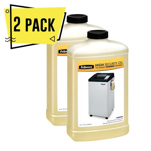 2 Pack Aceite Shredder de alta seguridad Powershred® - 32 oz Botella - MarchanteMX