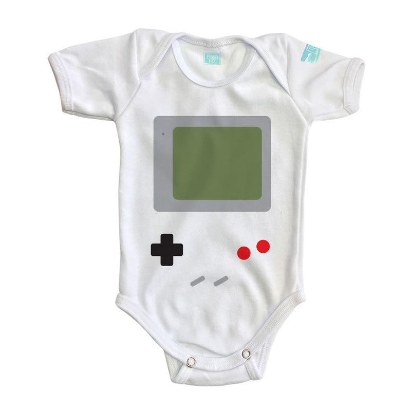 Body para bebe Game Boy Pañalero Manga Corta / 0
