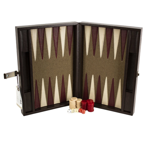Backgammon Frengie Mini Curpiel - MarchanteMX