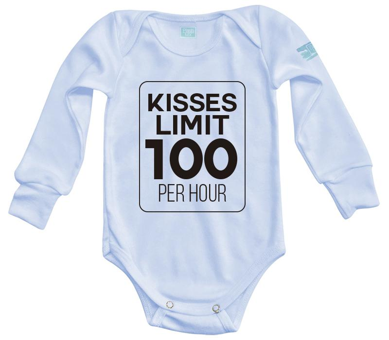 Body Bebé Kisses Limit Pañalero