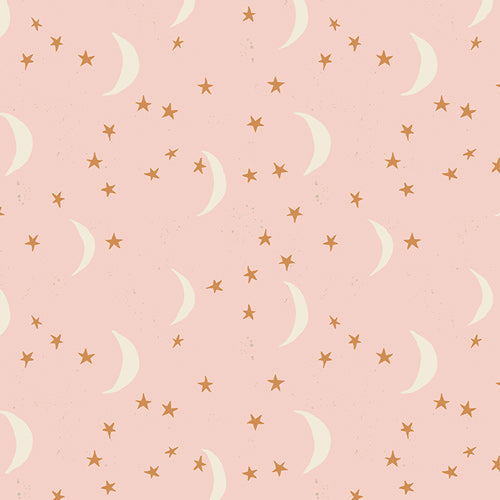 Organic Cotton Jersey Scarf - Pink Moon