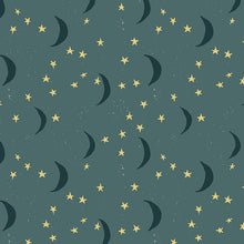 Organic Cotton Jersey Headband - Blue Moon