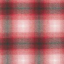 Plaid Flannel Infinity Scarf - Red Plaid