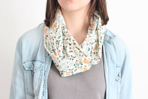 Organic Cotton Jersey Scarf - Little Bird