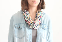 Organic Cotton Jersey Scarf - Colorful Angles