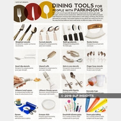 Dining tools for people with Parkinson's