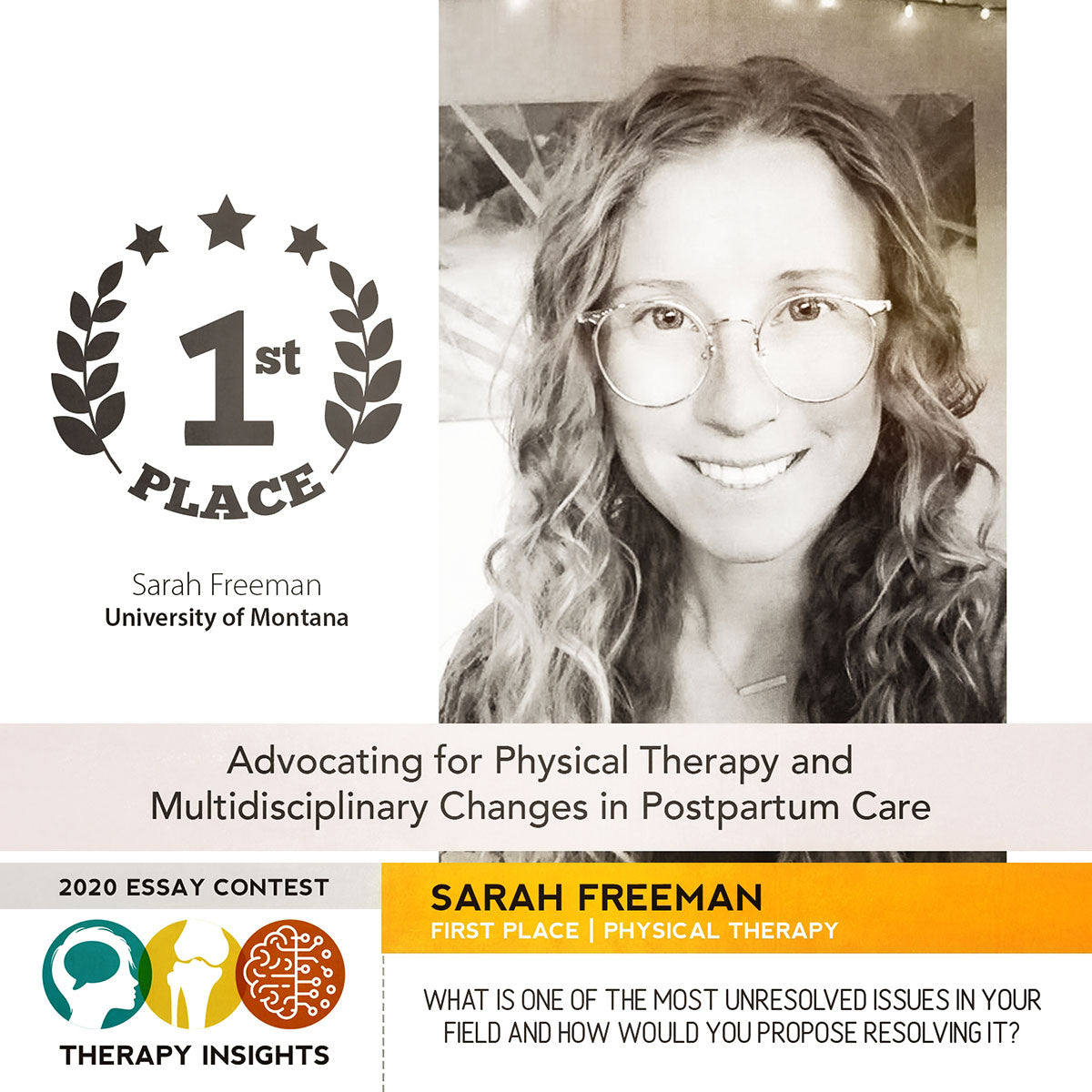 Physical Therapy and Multidisciplinary Changes in Postpartum Care by Sarah Freeman