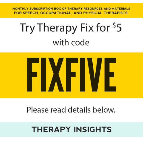Try Therapy Fix for $5.