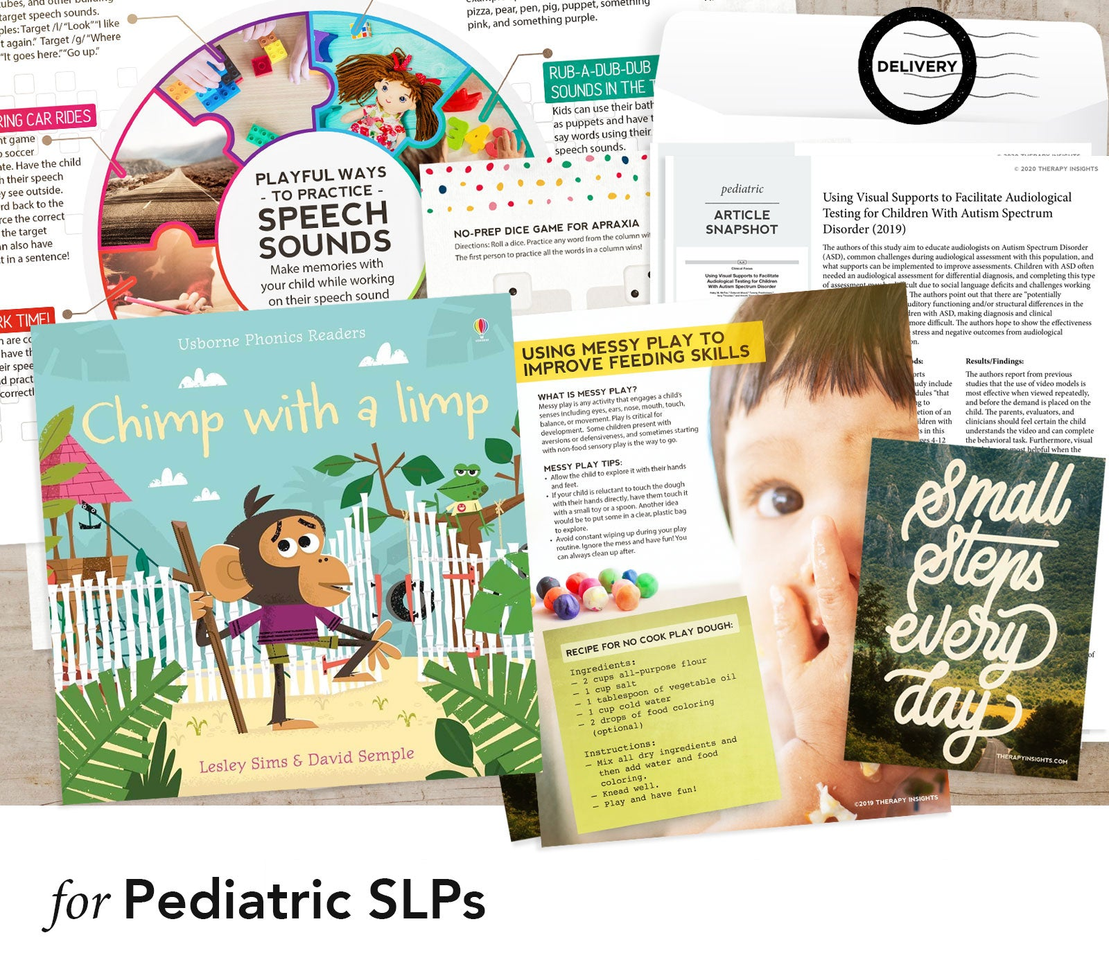 Therapy Fix for Pediatric SLPs