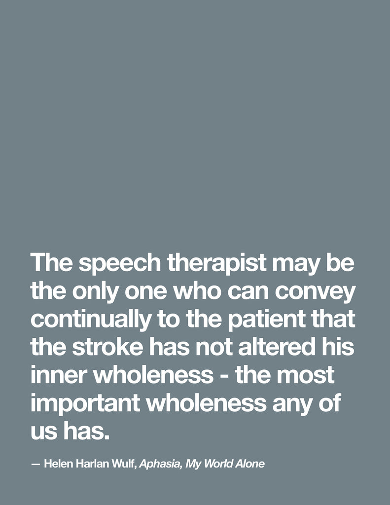 10 Quotes About Aphasia By A Person With Aphasia Therapy Insights