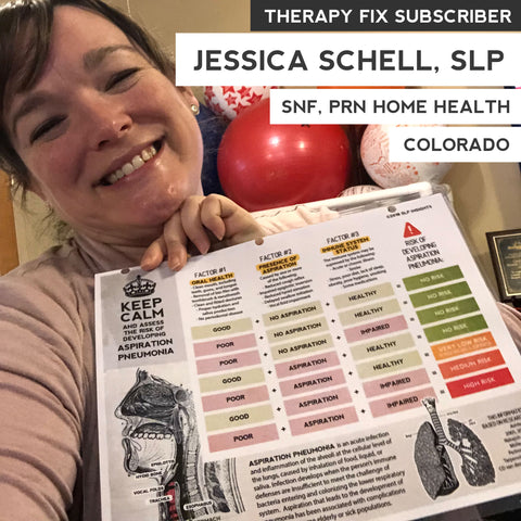 Jessica Schell - Therapy Fix subscriber - Therapy Fix review - What SLPs say about Therapy Fix