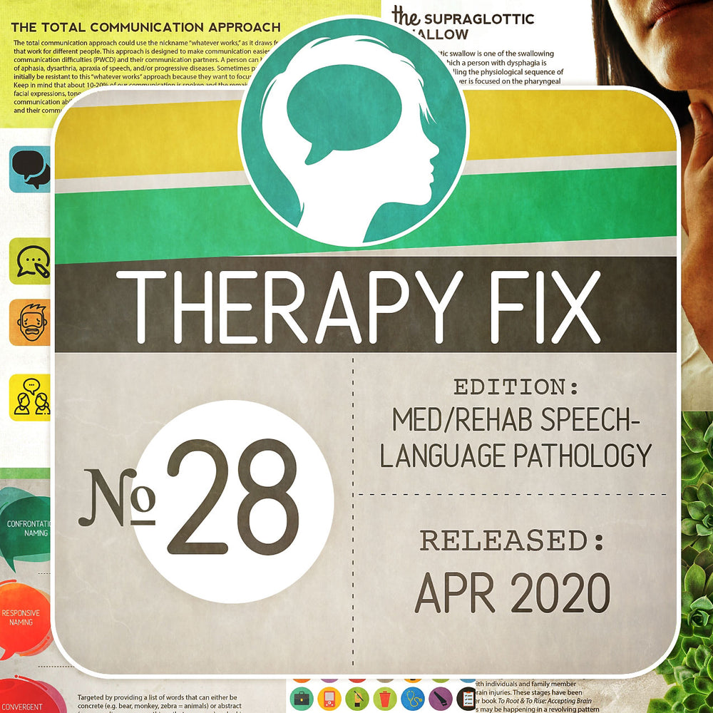 Med/Rehab Speech-Language Pathology Therapy Fix No. 28 (Released Apr 2020)