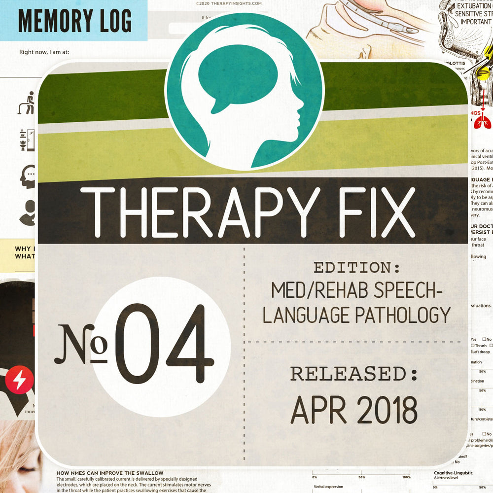 Med/Rehab Speech-Language Pathology Therapy Fix No. 4 (Released Apr 2018)