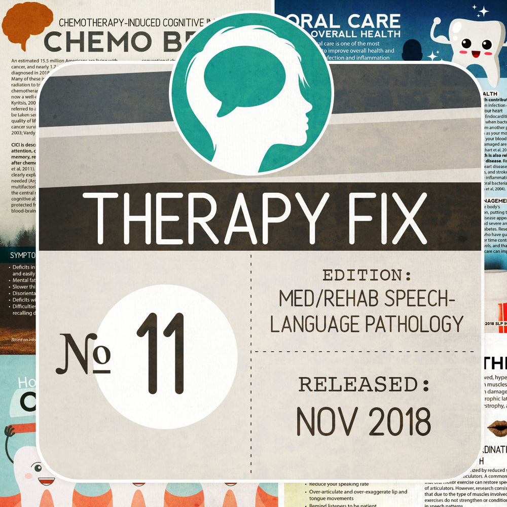 Med/Rehab Speech-Language Pathology Therapy Fix No. 11 (Released Nov 2018)